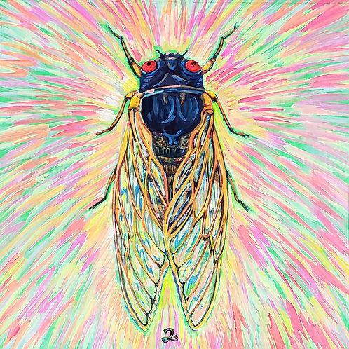 Cicada no. 2, Print