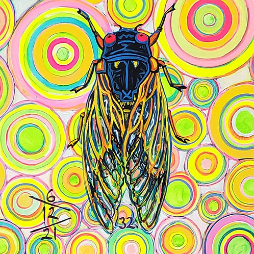 Cicada no. 32, Print
