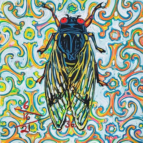 Cicada no. 36, Print