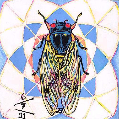 Cicada no. 27, Print