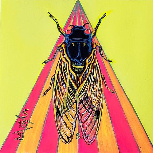 Cicada no. 8, Painting