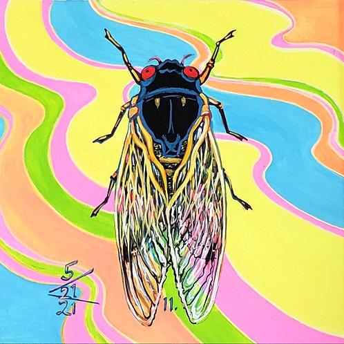 Cicada no. 11, Print