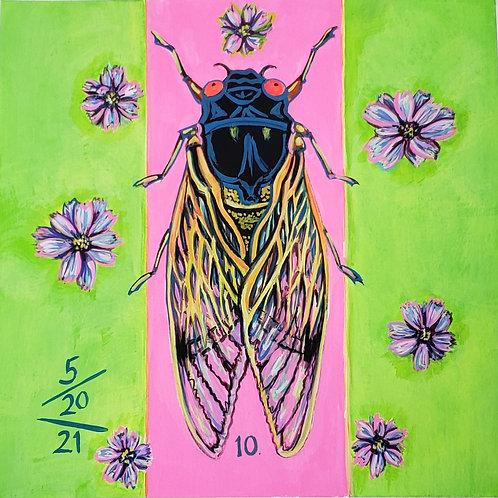 Cicada no. 10, Print