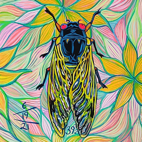 Cicada no. 39, Print