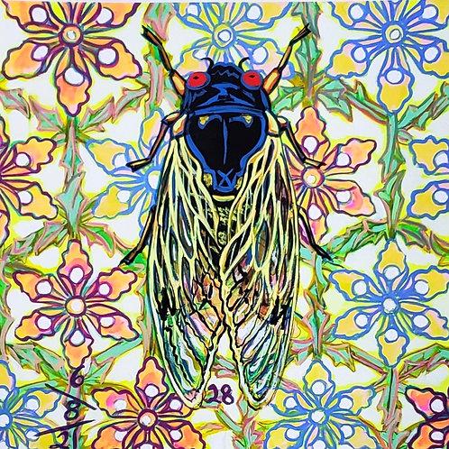 Cicada no. 28, Print