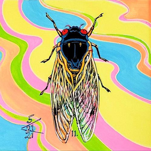 Cicada no. 11, Painting