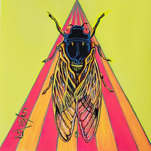 Cicada no. 8, Print