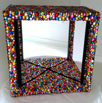 Rainbow Sparkle Mirror Box