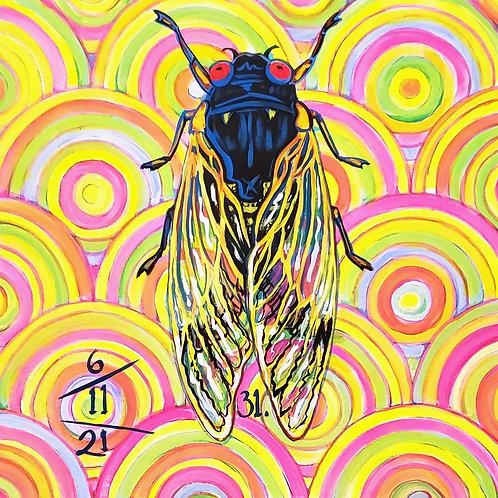Cicada no. 31, Print