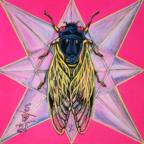 Cicada no. 9, Print