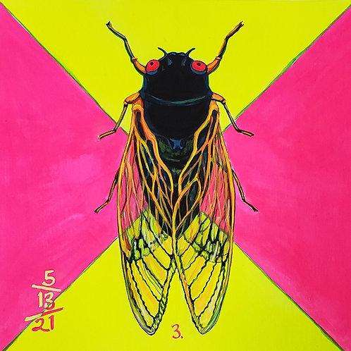 Cicada no. 3, Print