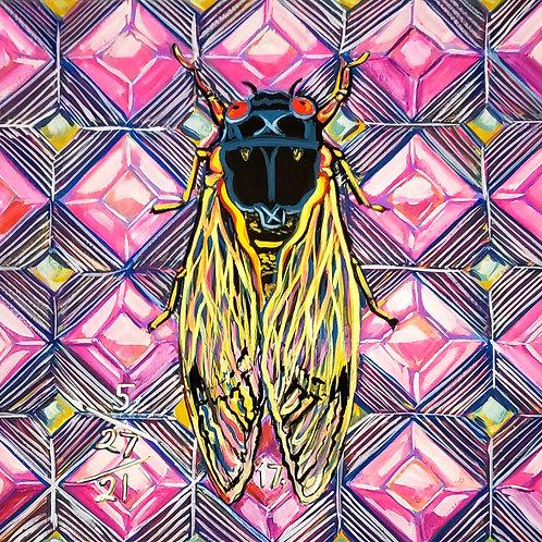 Cicada no.17, Painting
