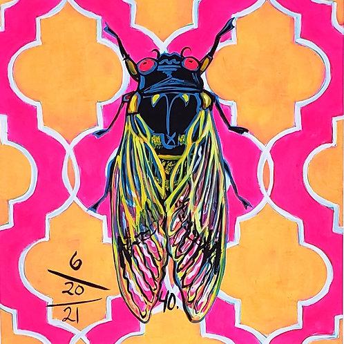 Cicada no. 40, Print