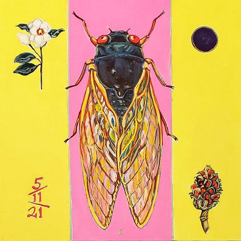 Cicada no.1, Painting