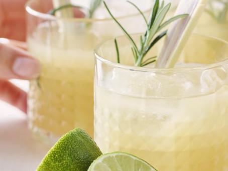 Limoenbowl met gember, citroengras en rozemarijn