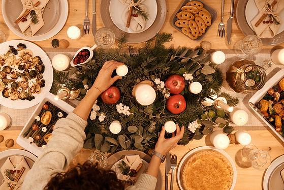 Feestdagen diner