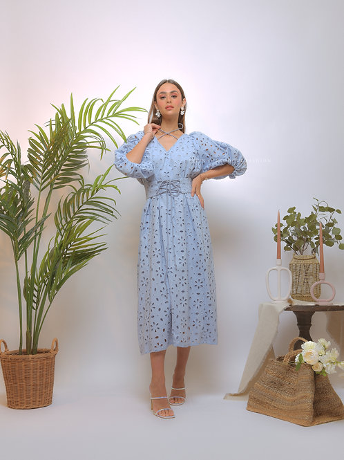The NOORI FLORAL Dress