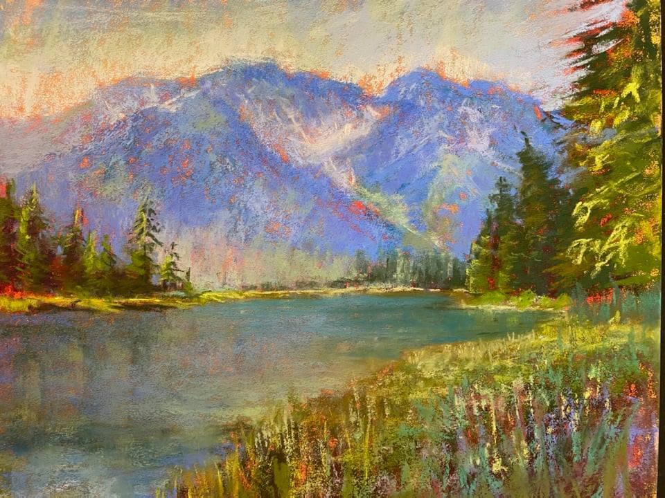 Sunday - Landscapes in Pastels