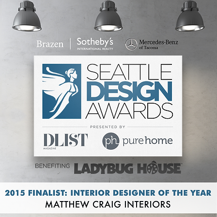 Seattle Design Awards, finalist for the 2015 Seattle Design Awards