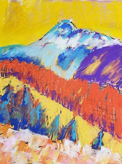 Pastel Mountain Majesty