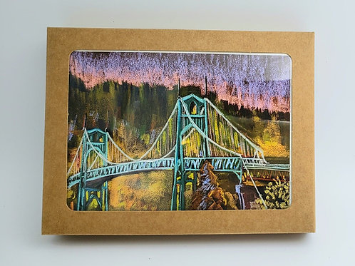 Saint John's Bridge Notecard Set