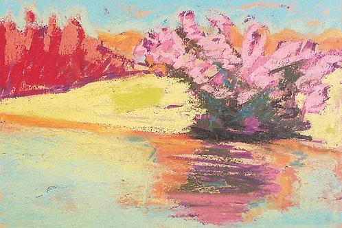 """Fiery Landscape -5x7"""""""