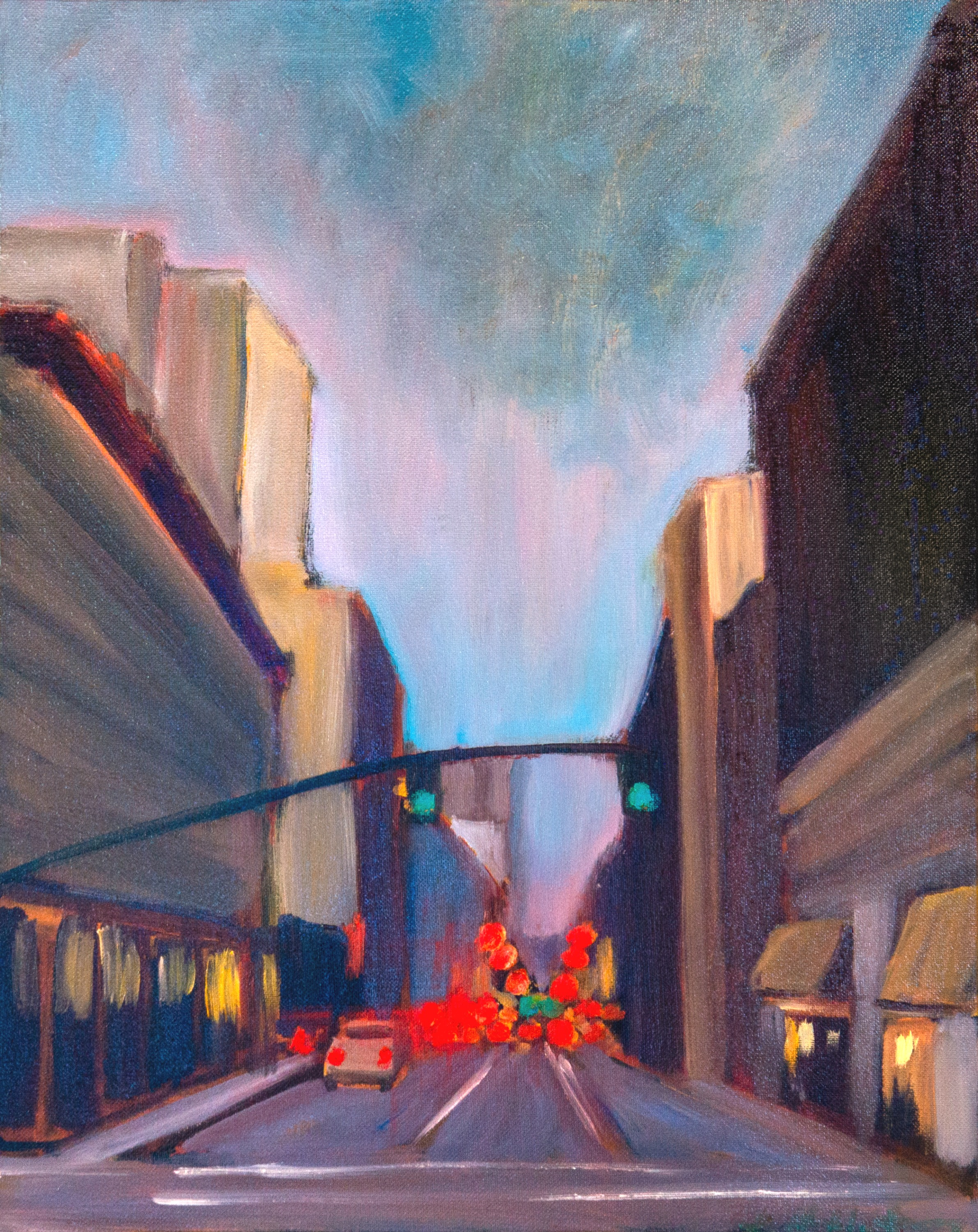 "Downtown Grays - 16x20"" - $320"