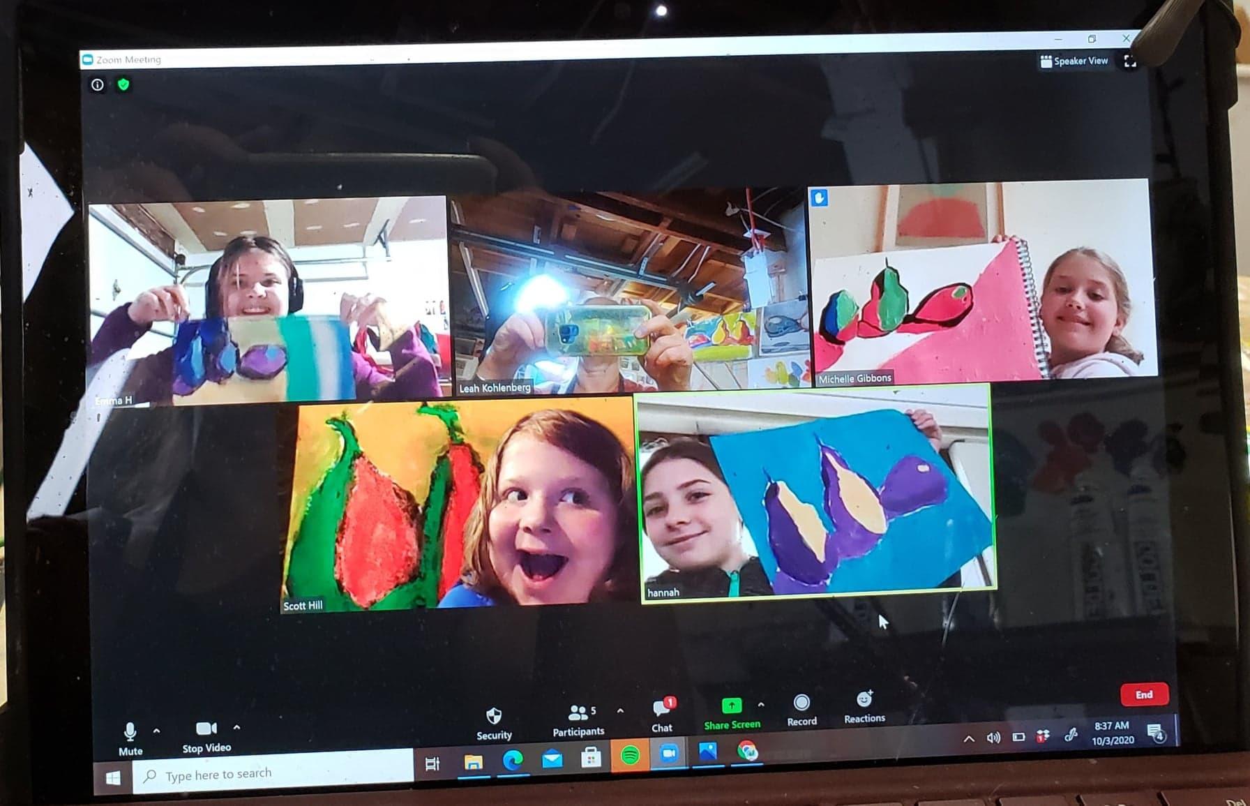 Friday - Kids Multimedia Art Class