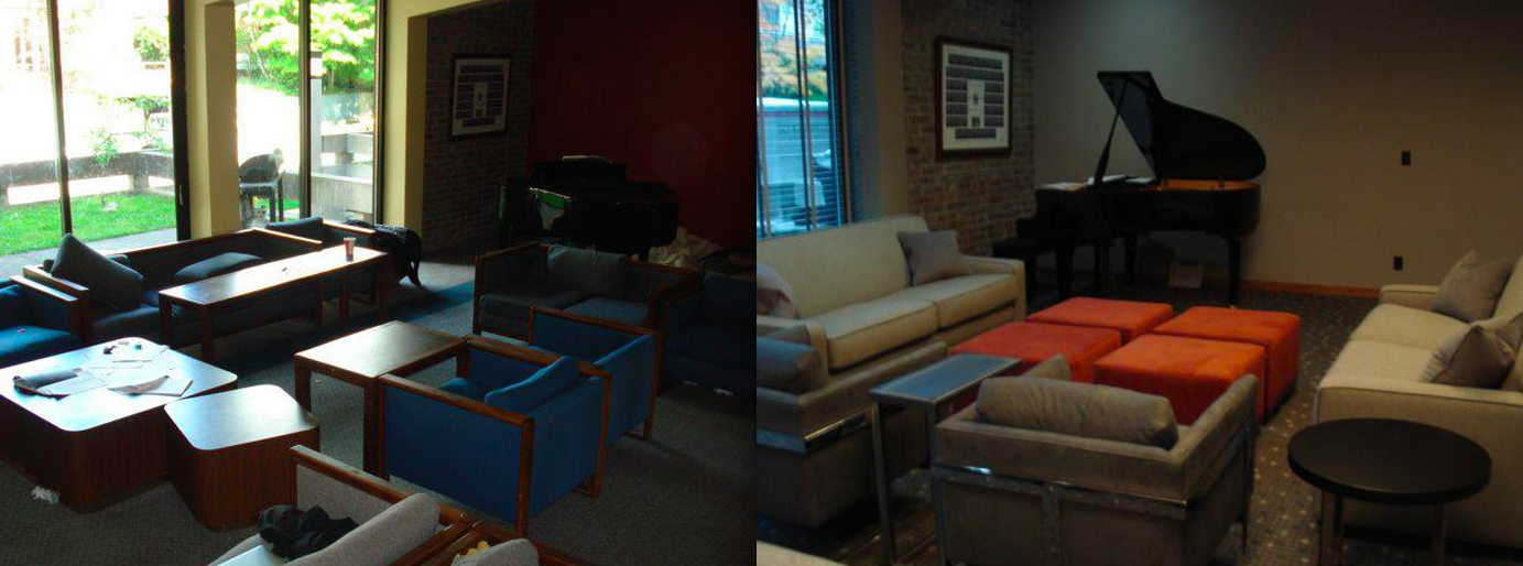 Fraternity Living Room