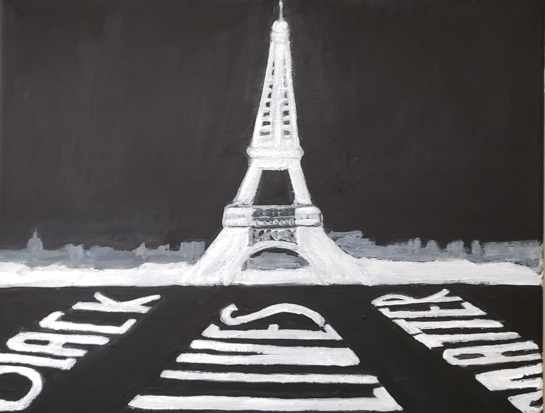 Black Lives Matter - Eiffel Tower - $300/$50