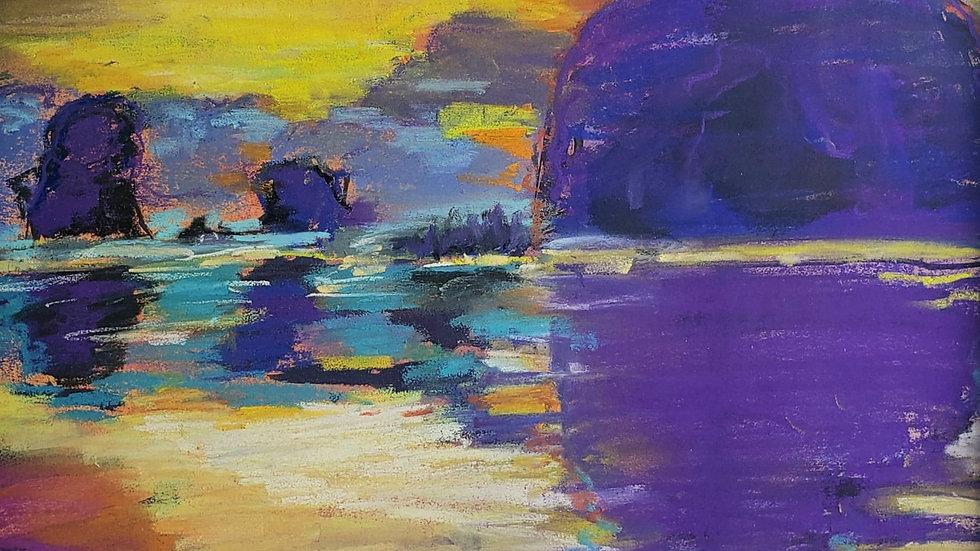 Haystack Rock (Portland Artist Guild)