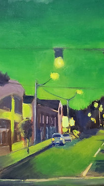 Green Light Go - 20 x 24 inches