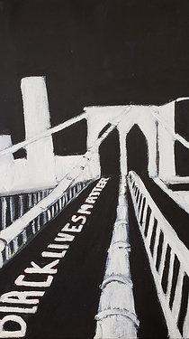 Original: Brooklyn Bridge - Black Lives Matter