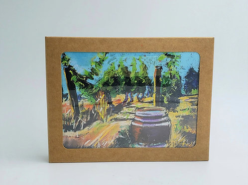 Wine Country Notecard Set
