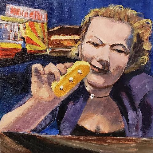 """Twinkie Girl - 12x12"""""""