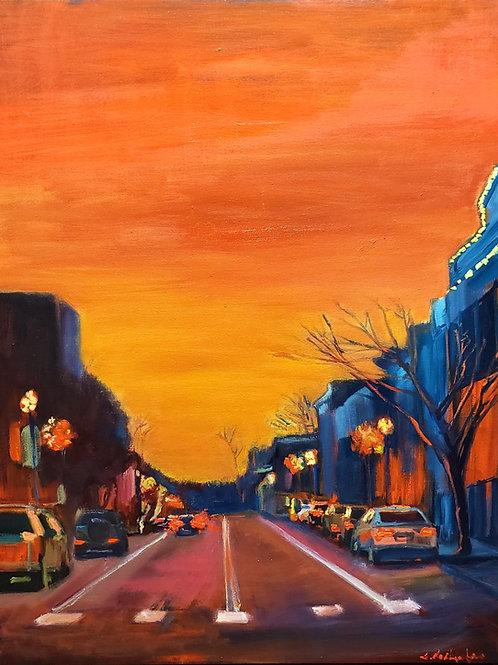 Sunset Party (aka Orange Skyline)
