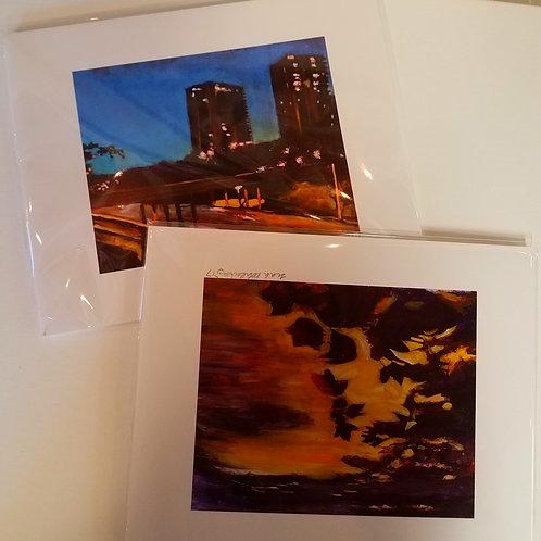 8 x 10 inch prints