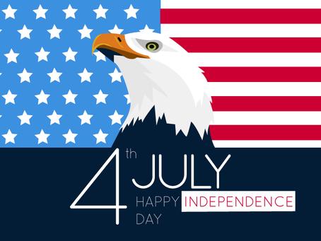 Happy Birthday America!  Keep safe....