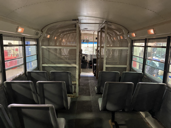 People's Bus at Riker's Island Pre-Transformation