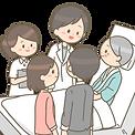 description-hospitalization-patient-fami