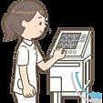 ventilator-manipulate-medical-equipment-