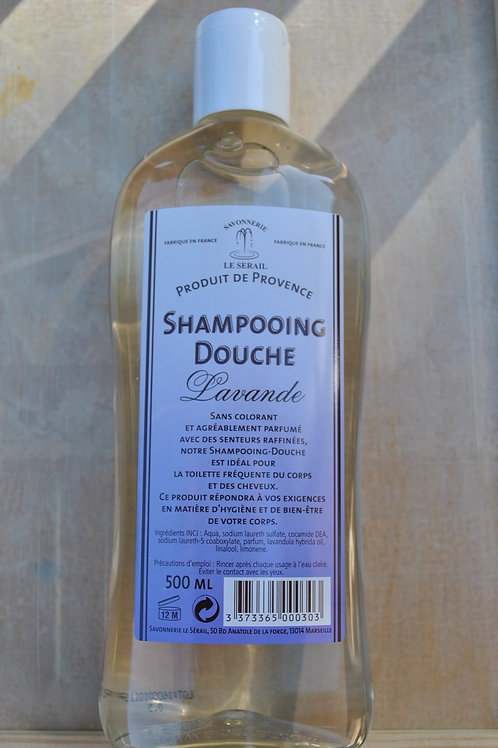 Shampoo & Shower Gel - 500ML Lavender