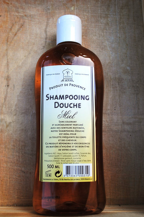 Shampoo & Shower Gel - 500ML Honey