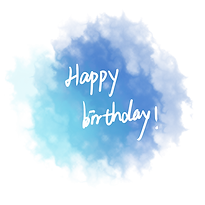 —Pngtree—blue happy birthday watercolor illustration_4695435.png