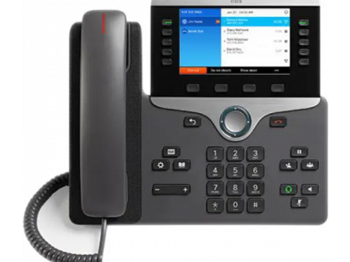 CISCO IP PHONE CP-8841-K9, WIDESCREEN VGA, HIGH-QUALITY VOICE