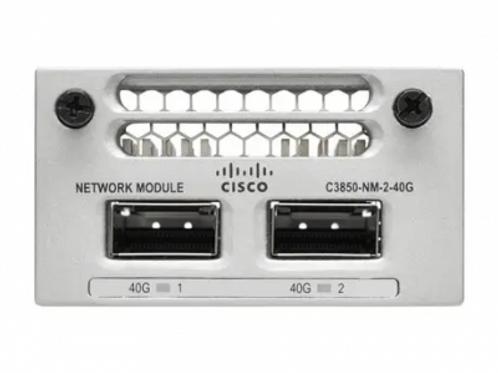 CISCO CATALYST 9300 2-PORT 40GBE QSFP+ NETWORK MODULE