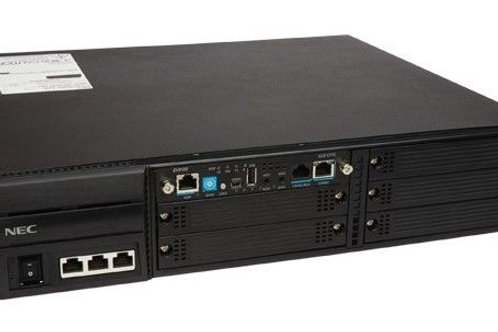 نظام الهاتف NEC SV9100 مع بطاقات