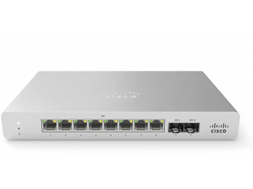 CISCO MERAKI | MS120-8LP-HW | CLOUD MANAGED 8X GIGE SWITCH WITH MERAKI MS120-8