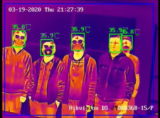 الكاميرات الحرارية Thermal cameras