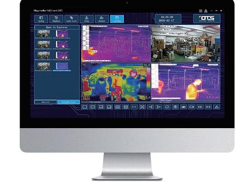 كاميرة حرارية قياس حرارة الأشخاص من شركة OT  RMAS-BT-DS2TD thermal